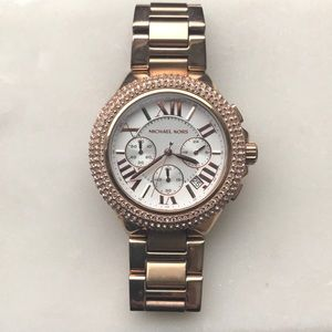 Michael Kors Large Rose Gold Watch